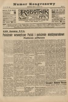 Robotnik : centralny organ P.P.S. R.41 [i.e.43], nr 37 (5 lutego 1937) = nr 6918 (numer kongresowy)