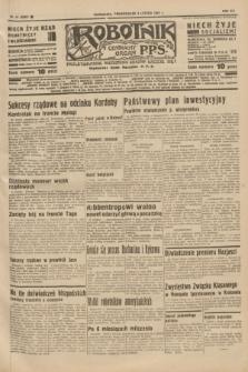 Robotnik : centralny organ P.P.S. R.41 [i.e.43], nr 41 (8 lutego 1937) = nr 6922