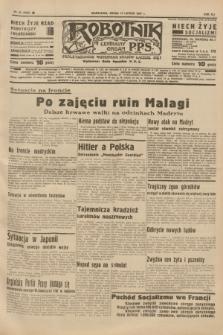 Robotnik : centralny organ P.P.S. R.41 [i.e.43], nr 43 (10 lutego 1937) = nr 6924