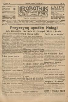 Robotnik : centralny organ P.P.S. R.41 [i.e.43], nr 44 (11 lutego 1937) = nr 6925
