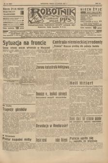 Robotnik : centralny organ P.P.S. R.41 [i.e.43], nr 46 (13 lutego 1937) = nr 6927