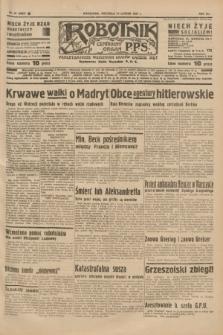 Robotnik : centralny organ P.P.S. R.41 [i.e.43], nr 47 (14 lutego 1937) = nr 6928