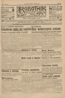 Robotnik : centralny organ P.P.S. R.41 [i.e.43], nr 51 (17 lutego 1937) = nr 6932