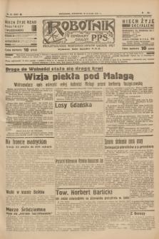 Robotnik : centralny organ P.P.S. R.41 [i.e.43], nr 52 (18 lutego 1937) = nr 6933