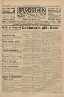 Robotnik : centralny organ P.P.S. R.41 [i.e.43], nr 56 (22 lutego 1937) = nr 6937