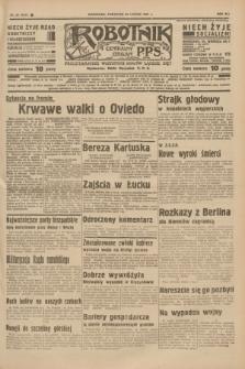 Robotnik : centralny organ P.P.S. R.41 [i.e.43], nr 60 (25 lutego 1937) = nr 6941