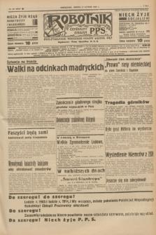 Robotnik : centralny organ P.P.S. R.41 [i.e.43], nr 62 (27 lutego 1937) = nr 6943
