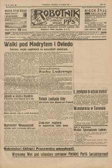 Robotnik : centralny organ P.P.S. R.41 [i.e.43], nr 63 (28 lutego 1937) = nr 6944 [po konfiskacie nakład drugi]