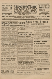 Robotnik : centralny organ P.P.S. R.41 [i.e.43], nr 70 (7 marca 1937) = nr 6951