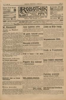 Robotnik : centralny organ P.P.S. R.41 [i.e.43], nr 71 (8 marca 1937) = nr 6952