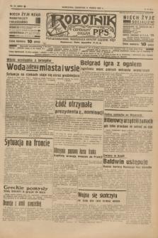 Robotnik : centralny organ P.P.S. R.41 [i.e.43], nr 74 (11 marca 1937) = nr 6955