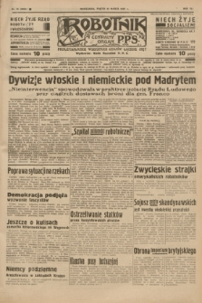 Robotnik : centralny organ P.P.S. R.41 [i.e.43], nr 75 (12 marca 1937) = nr 6956