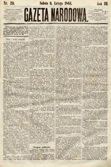 Gazeta Narodowa. 1864, nr29