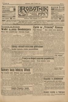 Robotnik : centralny organ P.P.S. R.41 [i.e.43], nr 80 (17 marca 1937) = nr 6961