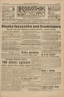 Robotnik : centralny organ P.P.S. R.41 [i.e.43], nr 83 (20 marca 1937) = nr 6964