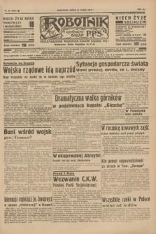 Robotnik : centralny organ P.P.S. R.41 [i.e.43], nr 88 (24 marca 1937) = nr 6969