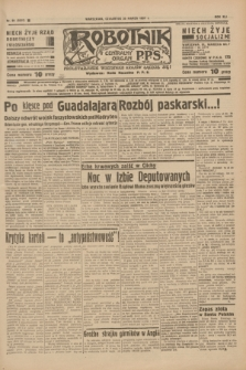 Robotnik : centralny organ P.P.S. R.41 [i.e.43], nr 89 (25 marca 1937) = nr 6970
