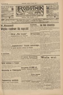 Robotnik : centralny organ P.P.S. R.41 [i.e.43], nr 92 (30 marca 1937) = nr 6973