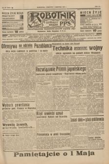 Robotnik : centralny organ P.P.S. R.41 [i.e.43], nr 95 (1 kwietnia 1937) = nr 6976