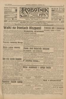 Robotnik : centralny organ P.P.S. R.41 [i.e.43], nr 99 (5 kwietnia 1937) = nr 6980