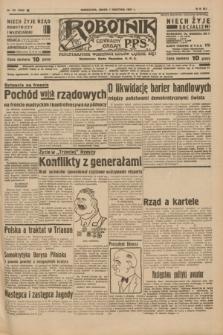 Robotnik : centralny organ P.P.S. R.41 [i.e.43], nr 101 (7 kwietnia 1937) = nr 6982
