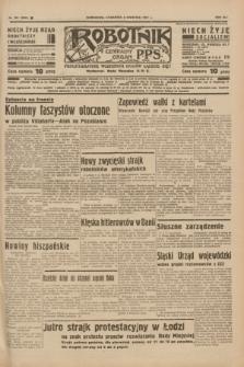 Robotnik : centralny organ P.P.S. R.41 [i.e.43], nr 102 (8 kwietnia 1937) = nr 6983