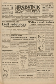 Robotnik : centralny organ P.P.S. R.41 [i.e.43], nr 104 (10 kwietnia 1937) = nr 6985