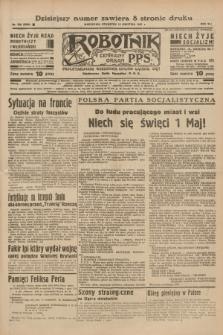 Robotnik : centralny organ P.P.S. R.41 [i.e.43], nr 109 (15 kwietnia 1937) = nr 6990