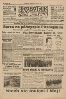 Robotnik : centralny organ P.P.S. R.41 [i.e.43], nr 112 (18 kwietnia 1937) = nr 6993