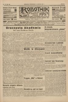 Robotnik : centralny organ P.P.S. R.41 [i.e.43], nr 113 (19 kwietnia 1937) = nr 6994