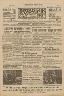 Robotnik : centralny organ P.P.S. R.41 [i.e.43], nr 120 (24 kwietnia 1937) = nr 7001 (po konfiskacie nakład drugi)