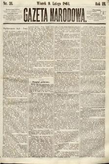 Gazeta Narodowa. 1864, nr31