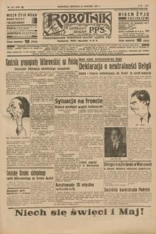 Robotnik : centralny organ P.P.S. R.41 [i.e.43], nr 121 (25 kwietnia 1937) = nr 7002