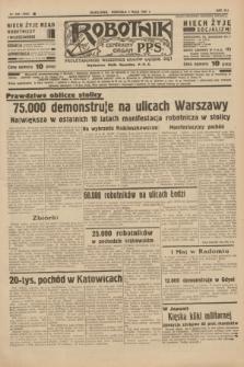 Robotnik : centralny organ P.P.S. R.41 [i.e.43], nr 128 (2 maja 1937) = nr 7009