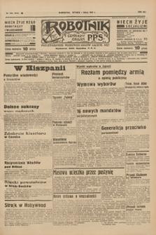 Robotnik : centralny organ P.P.S. R.41 [i.e.43], nr 129 (4 maja 1937) = nr 7010