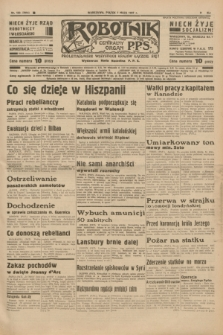 Robotnik : centralny organ P.P.S. R.41 [i.e.43], nr 133 (7 maja 1937) = nr 7014