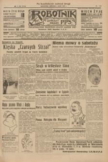 Robotnik : centralny organ P.P.S. R.41 [i.e.43], nr 136 (9 maja 1937) = nr 7018 (po konfiskacie nakład drugi)