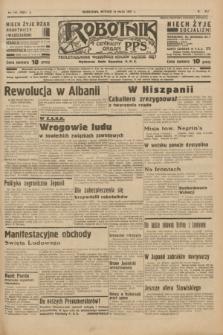 Robotnik : centralny organ P.P.S. R.41 [i.e.43], nr 145 (18 maja 1937) = nr 7027