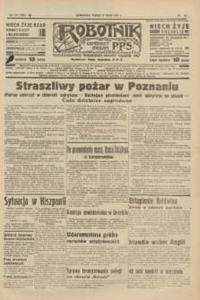 Robotnik : centralny organ P.P.S. R.41 [i.e.43], nr 148 (21 maja 1937) = nr 7030