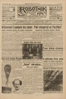 Robotnik : centralny organ P.P.S. R.41 [i.e.43], nr 153 (26 maja 1937) = nr 7035