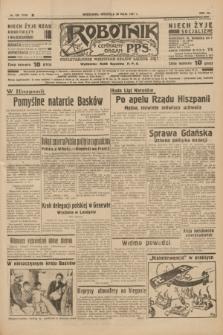 Robotnik : centralny organ P.P.S. R.41 [i.e.43], nr 158 (30 maja 1937) = nr 7040