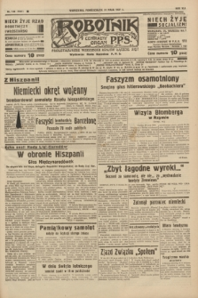 Robotnik : centralny organ P.P.S. R.41 [i.e.43], nr 159 (31 maja 1937) = nr 7041