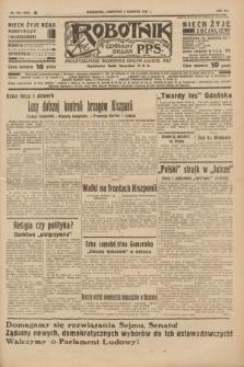 Robotnik : centralny organ P.P.S. R.41 [i.e.43], nr 162 (3 czerwca 1937) = nr 7044
