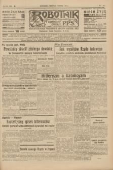 Robotnik : centralny organ P.P.S. R.41 [i.e.43], nr 164 (5 czerwca 1937) = nr 7046