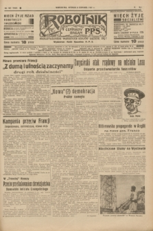 Robotnik : centralny organ P.P.S. R.41 [i.e.43], nr 167 (8 czerwca 1937) = nr 7049