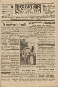 Robotnik : centralny organ P.P.S. R.41 [i.e.43], nr 168 (9 czerwca 1937) = nr 7050