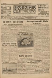 Robotnik : centralny organ P.P.S. R.41 [i.e.43], nr 170 (11 czerwca 1937) = nr 7052