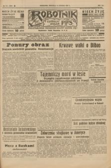 Robotnik : centralny organ P.P.S. R.41 [i.e.43], nr 172 (13 czerwca 1937) = nr 7054