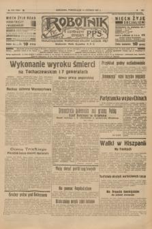 Robotnik : centralny organ P.P.S. R.41 [i.e.43], nr 173 (14 czerwca 1937) = nr 7055