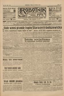 Robotnik : centralny organ P.P.S. R.41 [i.e.43], nr 175 (16 czerwiec 1937) = nr 7057